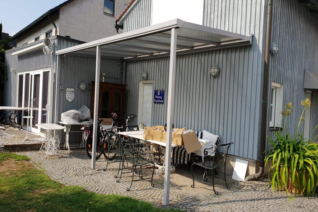 Billige Terrassenüberdachung
